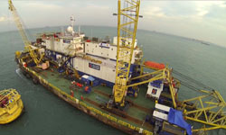 "Bukom SBM 48"" Subsea Pipeline Repair Project, Singapore"